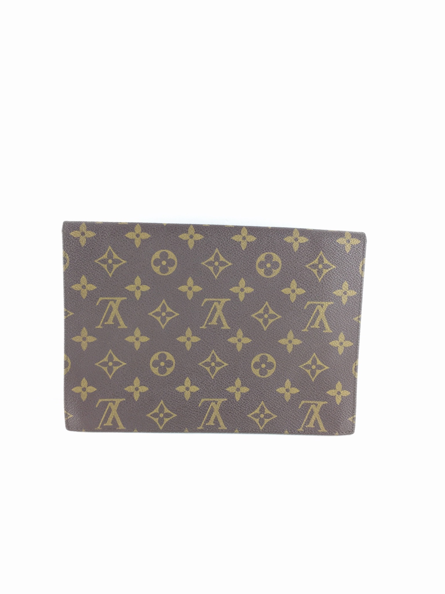 8926259397f3 Details about Authentic Louis Vuitton Monogram Pochette rabat 23 Clutch Bag  M51940